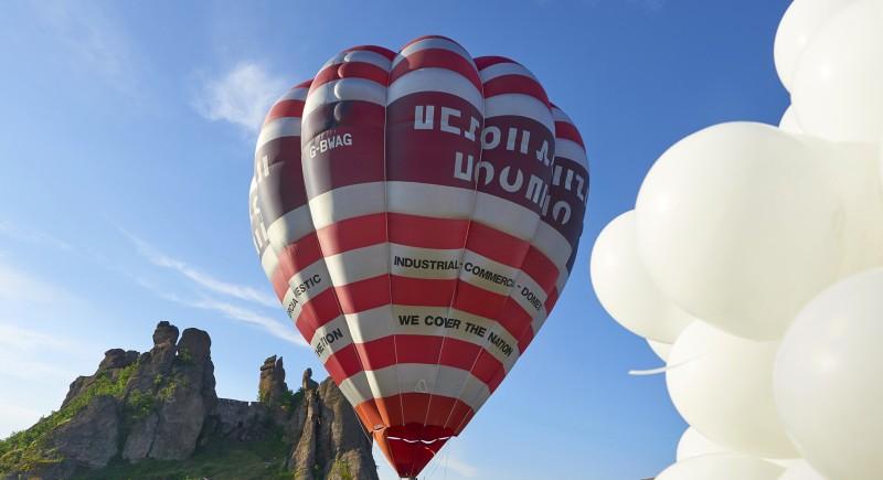 Има и малки балони с хелий :)