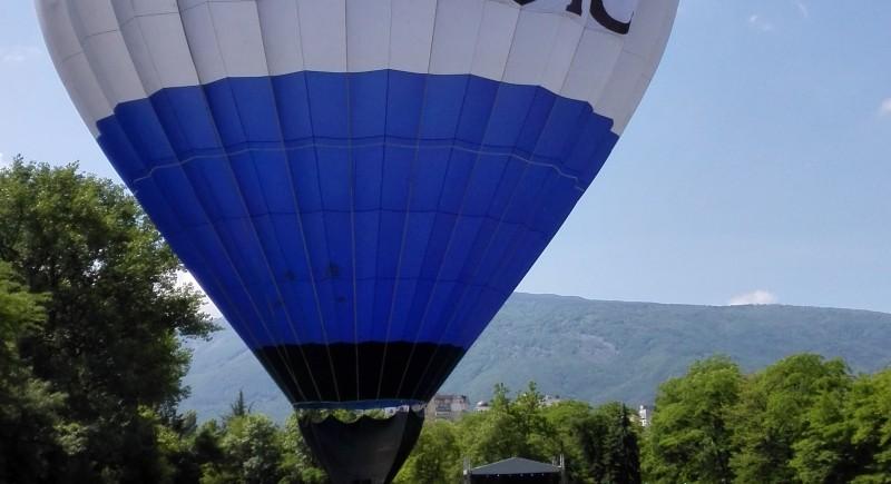 Реклама с балон MAGIC в Южен Парк София